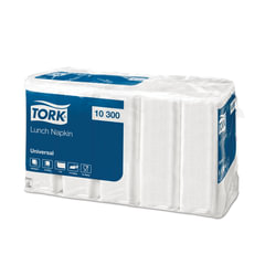 Салфетки TORK Big Pack, 33×32,6, 500 шт., белые, 10300