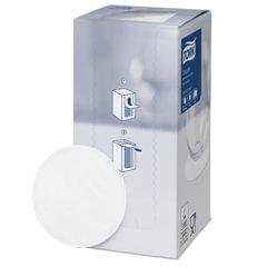 Подставки под чашку (коастер) бумажные TORK, комплект 250 шт., белые, 8-слойные, диаметр 9 см, круглый край