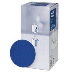 Подставки под чашку (коастер) бумажные TORK, комплект 250 шт., темно-синие, 8-слойные, диаметр 9 см, круглый край