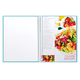 Книга для кулинарных рецептов, А5, 80 л., HATBER, 7БЦ, спираль, 5 разделителей, «Кулинарная фантазия»