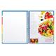 Книга для кулинарных рецептов, А5, 80 л., HATBER, 7БЦ, спираль, на резинке, 5 разделителей, «Смак»