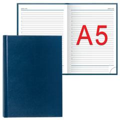 Ежедневник ERICH KRAUSE, недатированный, А5, 148×210 мм, «Ariane», «под кожу классик», синий