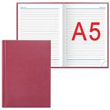 Ежедневник ERICH KRAUSE недатированный, А5, 148×210 мм, «Ariane», «под кожу классик», бордовый