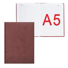 Ежедневник ERICH KRAUSE недатированный, А5, 148×210 мм, «Vivella», «гладкая кожа», коричневый