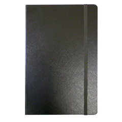 Бизнес-блокнот BRAUBERG, А7+, 95×145 мм, «Select», зернистый кожзаменитель, резинка, линия, 64 л., черный