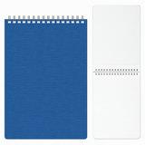 Блокнот А5, 80 л., гребень, пластиковая обложка, HATBER, «WOOD-голубой», 145×205 мм, 80Б5B1гр 02225