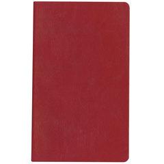 Бизнес-блокнот А5, ЭКО-кожа, клетка/<wbr/>тонированный, HATBER, 128 л., «SARIF-красный», 128ББL5В1 00415