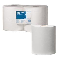 Бумага протирочная TORK (Система W1, W2), комплект 2 шт., Universal, 800 листов в рулоне, 33×25,5 см, 2-слойная