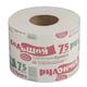 Бумага туалетная бытовая 75 м, на втулке (эконом), «Рулончик большой»