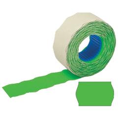 Этикет-лента 26×12 мм, волна, зеленая, комплект 100 рулонов по 800 шт., STAFF