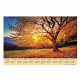 Календарь А1 на 2018 г., HATBER, 90×60 см, горизонтальный, «Золотая осень», Кл1 14485