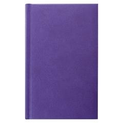 Ежедневник датированный 2018, А5, ERICH KRAUSE «Galine», под кожу классик, фиолетовый, 176 л., 148×210 мм