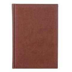 Ежедневник датированный 2018, А5, ERICH KRAUSE «Vivella», гладкая кожа, коричневый, 176 л., 148×210 мм