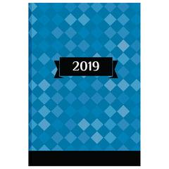 Ежедневник датированный 2019, А5, обложка 7БЦ, «Офис», 160 л, 145×215 мм, BRAUBERG