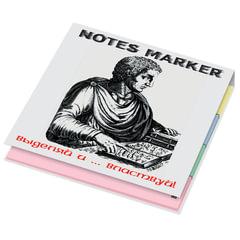 Закладки клейкие «Notes Marker», 20×75 мм, 8 блоков х 40 листов, PRINTSTICK, европодвес