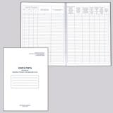 Книга «Учета движения трудовых книжек и вкладышей», 48 л., А4, 210×290 мм, картон, офсет