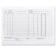 Бланк бухгалтерский, офсет 190 г/<wbr/>м, «Карточка учета материалов», комплект 50 шт., форма М17, А5, 147×208 мм