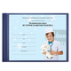 Бланк медицинский «История развития ребенка» BRAUBERG (БРАУБЕРГ), А5, 205×150 мм (ф.112), синий, твердая обложка, бумвинил, 96 л.