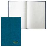 Книга учета 96 л., А4, 200×290 мм, ОФИСМАГ, клетка, обожка твердая бумвинил, блок офсетный
