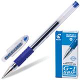 Ручка гелевая PILOT «G-1 GRIP», с резиновым упором, 0,3 мм, синяя