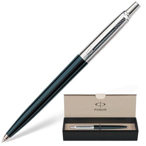 Ручка шариковая PARKER Jotter Special Black, корпус черный, литой пластик, детали из нержавеющей стали, S0705660, синяя