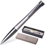 Ручка шариковая PARKER «Urban Premium Pearl Metal Chiselled», корпус «жемчужный», латунь, хромированные детали, S0911450, синяя