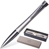 Ручка шариковая PARKER Urban Premium/<wbr/>Pearl Metal Chiselled «Белый жемчуг» кор. нерж. сталь, хр. дет