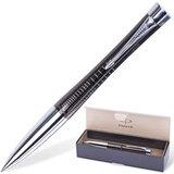 Ручка шариковая PARKER «Urban Premium Ebony Metal Chiselled», корпус черный, латунь, хромированные детали, S0911500, синяя
