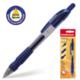 Ручка шариковая масляная ERICH KRAUSE автоматическая «Grapho Plus», 0,5 мм, резиновый держатель, блистер, синяя