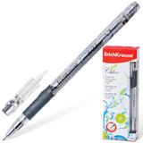 Ручка гелевая ERICH KRAUSE «CHLOE», корпус прозрачный, фольгированный стержень, 0,5 мм, черная