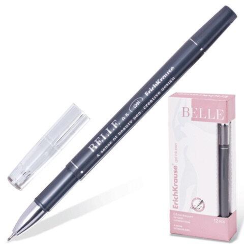 Ручка гелевая ERICH KRAUSE «BELLE gel», 0,5 мм, черная