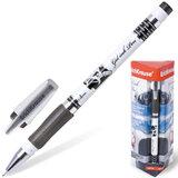 Ручка гелевая ERICH KRAUSE «ROBOGEL», с резиновым упором, 0,5 мм, черная