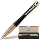 Ручка шариковая PARKER «Urban Muted Black GT», корпус черный, позолоченные детали, S0767040