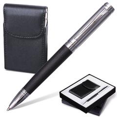Набор GALANT «Prestige Collection»: ручка, визитница, черный, подарочная коробка