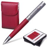 Набор GALANT «Prestige Collection»: ручка, визитница, бордовый, подарочная коробка
