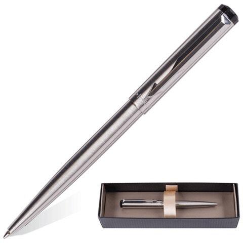 Ручка шариковая PARKER «Vector», корпус нержавеющая сталь, хромированные детали, S0723510
