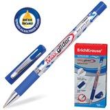 Ручка шариковая масляная ERICH KRAUSE «Max Glider», корпус цветной, толщина письма 1 мм, синяя