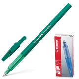Ручка шариковая STABILO «Liner», корпус зеленый, толщина письма 0,3 мм, зеленая