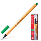 Ручка капиллярная STABILO «Point», толщина письма 0,4 мм, зеленая