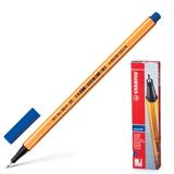 Ручка капиллярная STABILO «Point», толщина письма 0,4 мм, синяя