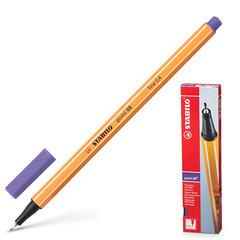 Ручка капиллярная STABILO «Point», корпус оранжевый, толщина письма 0,4 мм, фиолетовая