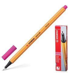 Ручка капиллярная STABILO «Point», корпус оранжевый, толщина письма 0,4 мм, розовая