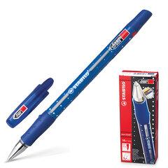 Ручка шариковая STABILO «Exam Grade», корпус синий, узел 0,8 мм, линия 0,4 мм, синяя