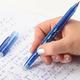 Ручка «Пиши-стирай» гелевая ПИФАГОР с 2-мя ластиками, толщина письма 0,5 мм, синяя