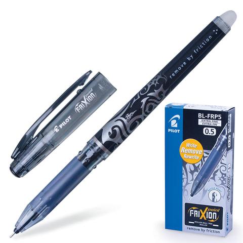 """Ручка """"Пиши-стирай"""" гелевая PILOT """"Frixion Point"""", игольчатый узел 0,5 мм, линия 0,25 мм, черная"""