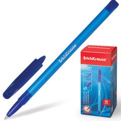Ручка шариковая ERICH KRAUSE «R-101», корпус тонированный синий, узел 1 мм, линия 0,5 мм, синяя