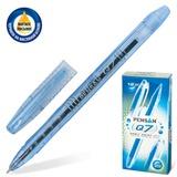 Ручка шариковая масляная PENSAN «Q7 ORBIT», корпус тонированный, толщина письма 0,7 мм, синяя