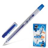 Ручка гелевая PENSAN «MY-KING», корпус прозрачный, толщина письма 0,5 мм, синяя