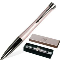 Ручка шариковая PARKER «Urban Premium Metallic», корпус розовый металлик, латунь, хромированные детали, синяя, S0949280