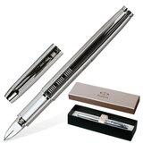 Ручка PARKER «5-й пишущий узел» «IM Premium Shiny Chrome Chiselled», корпус латунь, хромированные детали, S0976090
